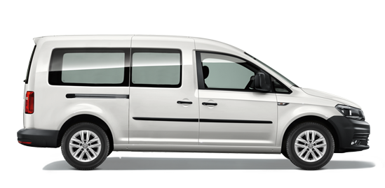 VW Caddy Long 7 Seats (DSG7) TSI 1.6